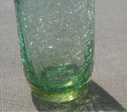 ひび割れガラス